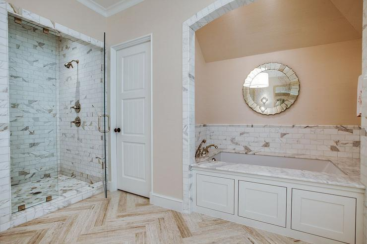 Peach bathroom paint design ideas Peach bathroom