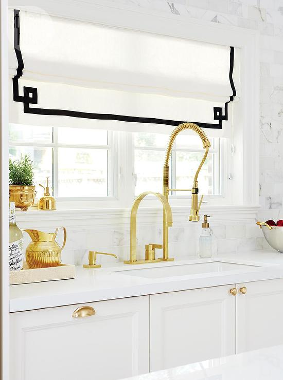 view full size - Gold Kitchen Faucet