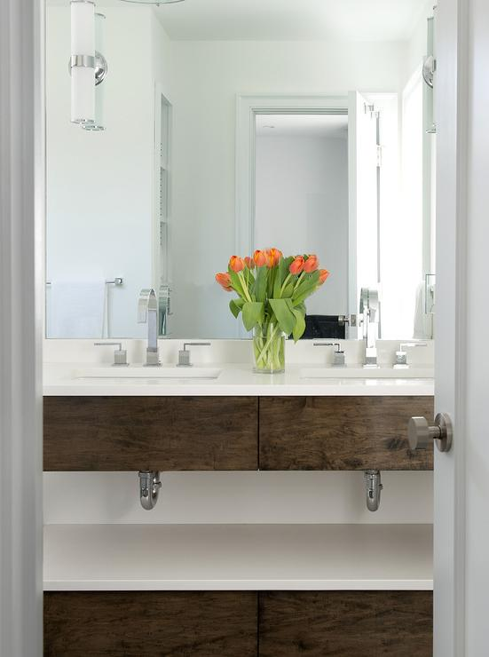 Contemporary Master Bathroom Washstand Contemporary Bathroom