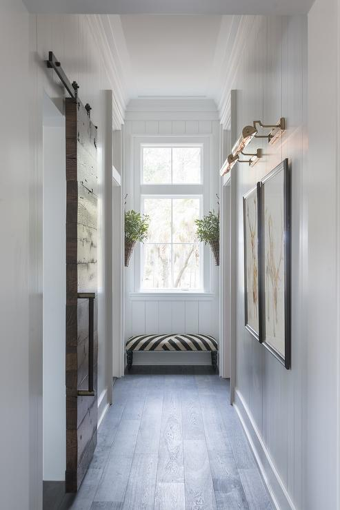 Long Hallway Bench Design Ideas