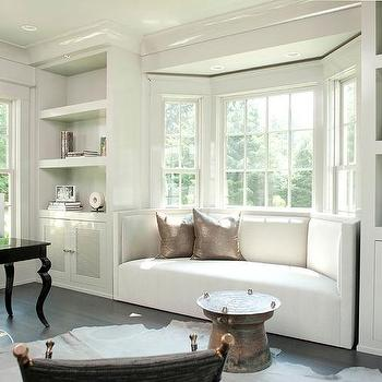 Dormer Window Seat With Bay Windows