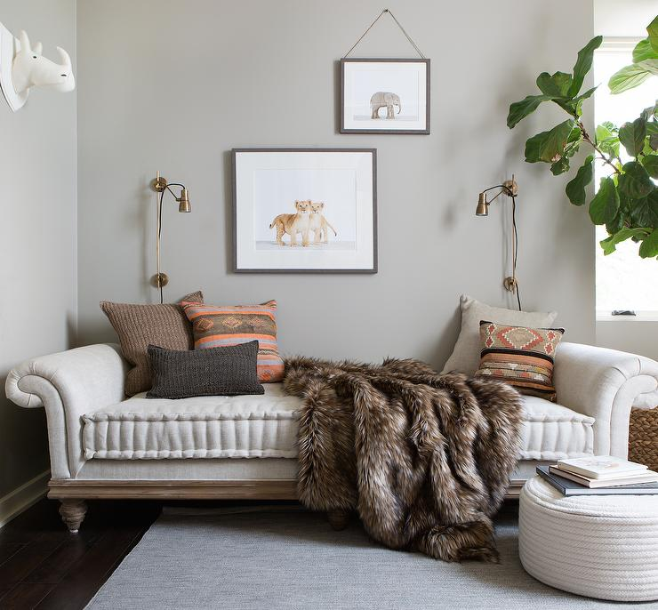 Daybed Couch Living Room Boho