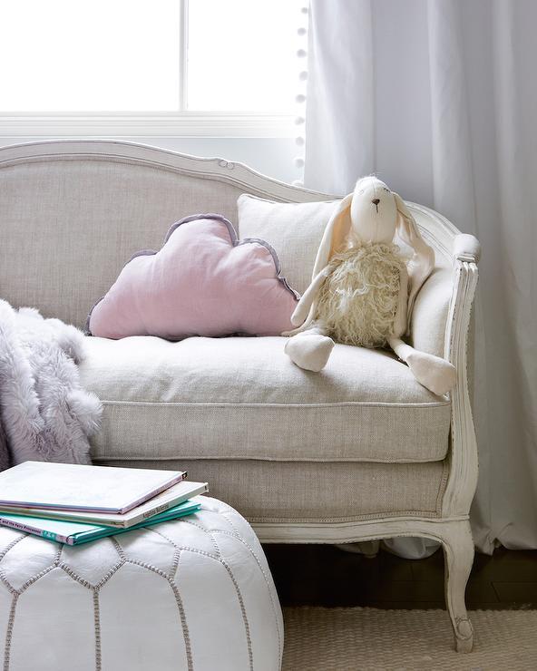 ondine upholstered salon bench transitional girl 39 s room