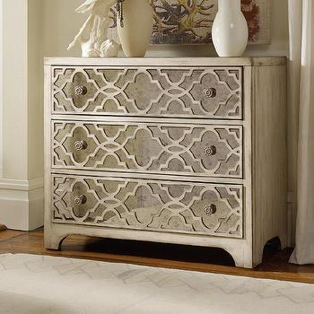 Hooker Furniture Sanctuary Three Drawer Fretwork Chest