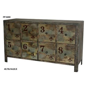 Cheungs Eight Drawer Vintage Chest