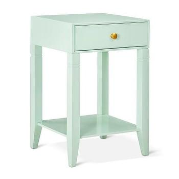 Superior Threshold Mint Accent Table With Drawer