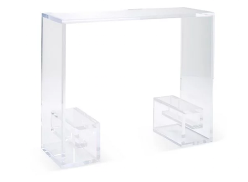 Plexi Craft Greek Key Console Table View Full Size
