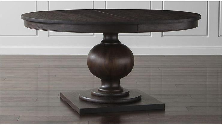 Winnetka Dark Brown Extension Dining Table
