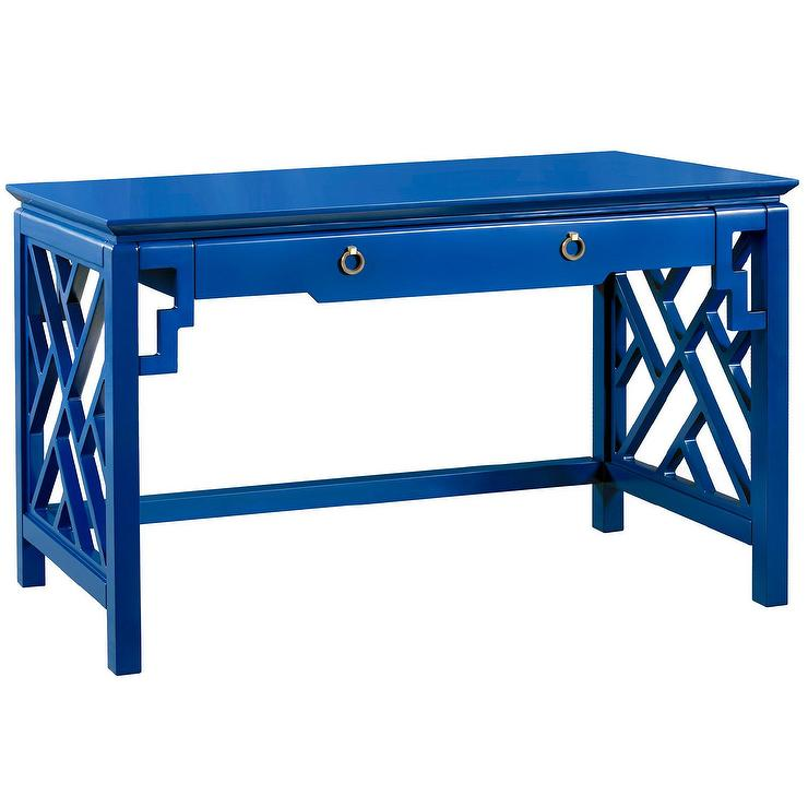 bungalow 5 bell blue desk