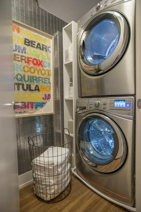 laundry rooms stainless steel microwave design decor. Black Bedroom Furniture Sets. Home Design Ideas
