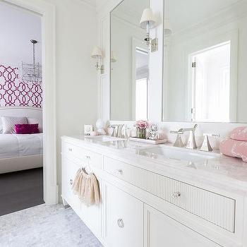 Pink Girl's Bathroom