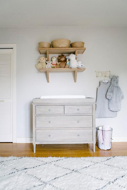 Elegant Nursery With French Changing Table