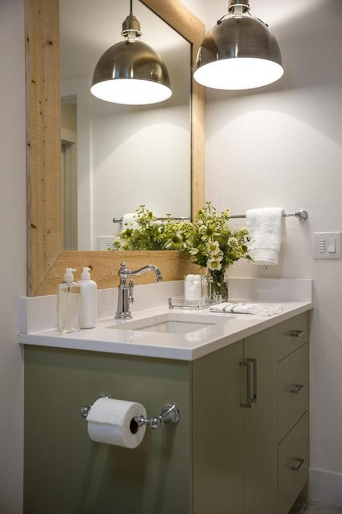 Merveilleux Green Bathroom Vanity