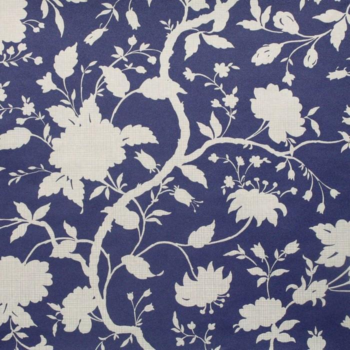Botanic prussian blue wallpaper mightylinksfo
