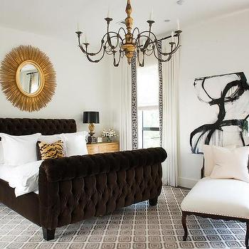 French Bedroom Lounge, Transitional, Bedroom
