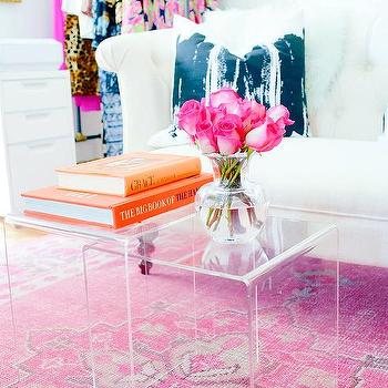 Pink Coffee Tables Design Ideas