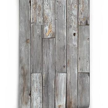 Two White And Natural Wood Panels