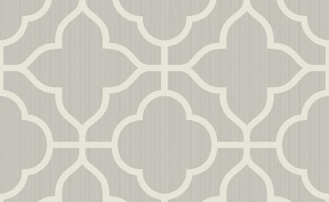 Traditional ogee white and grey wallpaper for Grey and white wallpaper