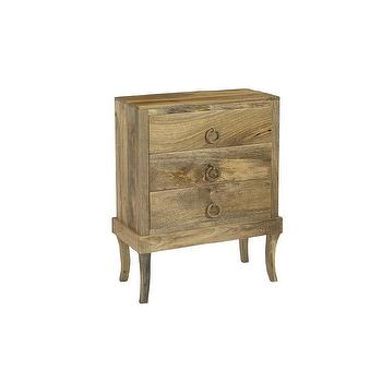 Christopher Knight Home Natural Three Drawer Chest