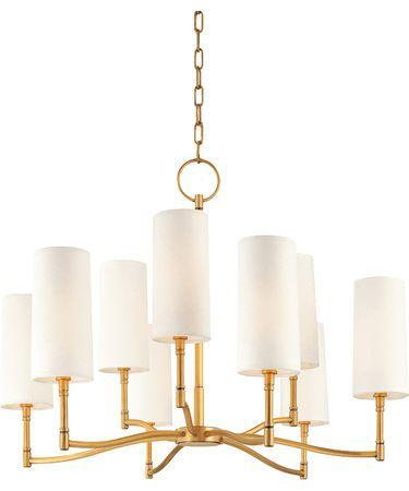 Hudson valley dillon gold chandelier aloadofball Choice Image