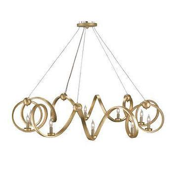 Currey and Company Ringmaster 46 Inch Chandelier
