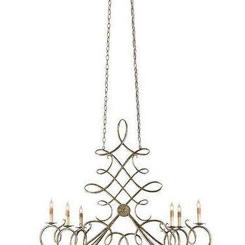 Currey and Company Regiment 47 Inch Chandelier