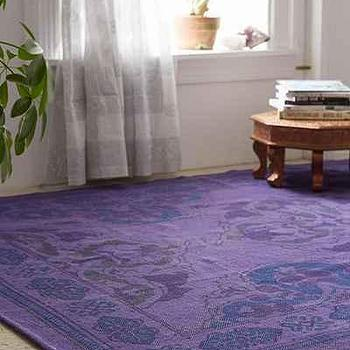 Plum & Bow Anatolian Overdyed Printed Rug
