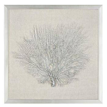 Gold Sea Fan Shadowbox