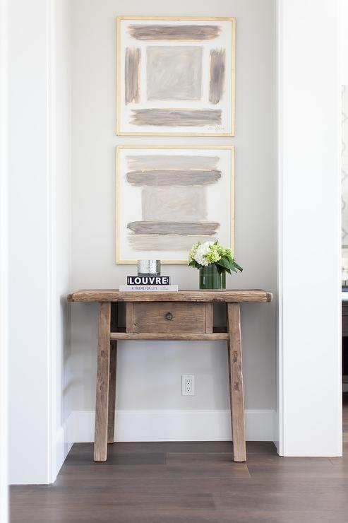 Hallway Nook Table, Transitional, Entrance/foyer