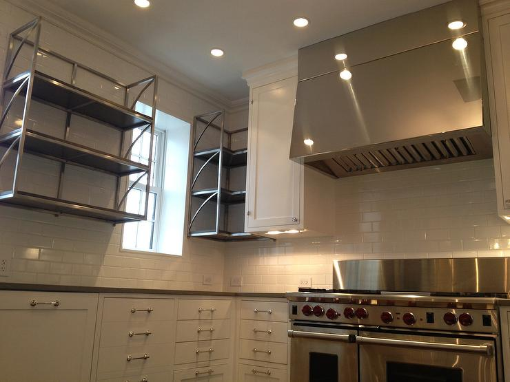 Stainless Steel Vent Hood Design Ideas