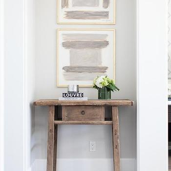 Hallway Nook Table, Transitional, Entrance/foyer
