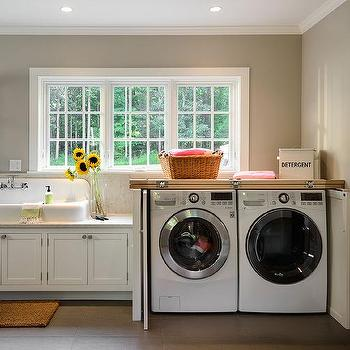 Washer And Dryer Cabinet With Fold In Doors
