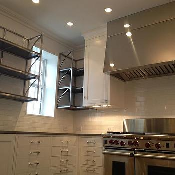 Stainless Steel Kitchen Shelving Units