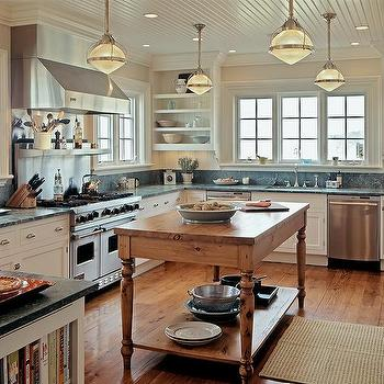 Nautical Kitchen, Cottage, Kitchen