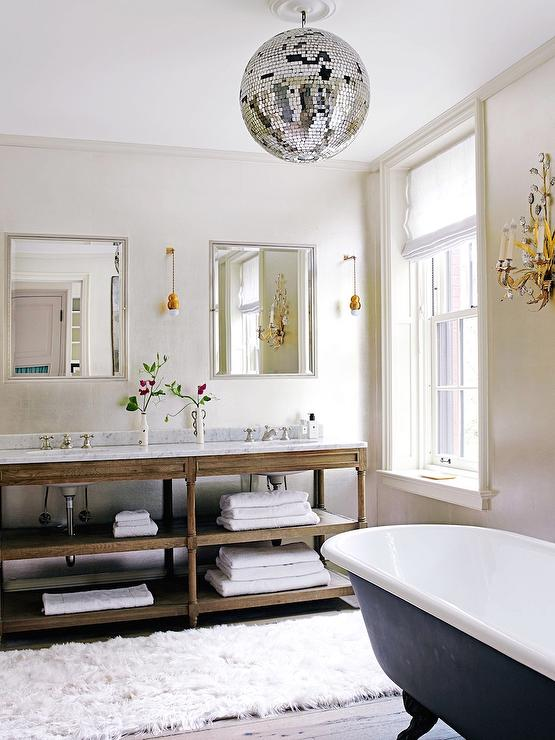 Bathroom Disco Ball Design Ideas