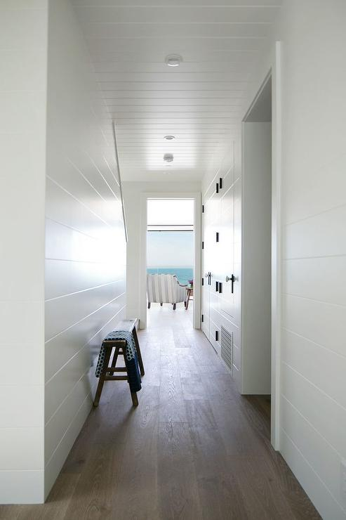 Shiplap Hallway Cottage Entrance Foyer