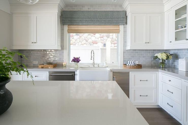 Kitchen Sink Next To Stainless Steel Mini Fridge Cottage