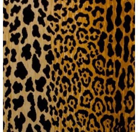 Braemore Jamil Natural Gold And Black Fabric