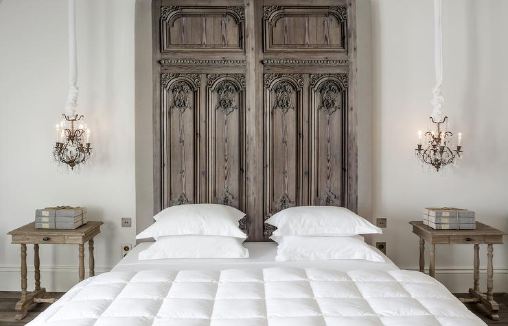 Admirable French Door Headboard Design Ideas Largest Home Design Picture Inspirations Pitcheantrous