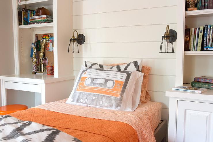 Kids Bedroom Accent Wall kids room shiplap walls design ideas