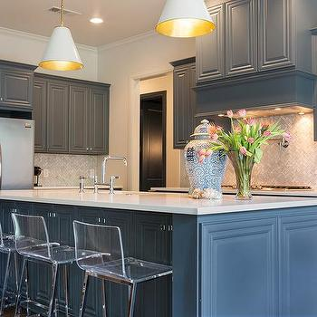 Marble Chevron Kitchen Backsplash View Full Size Beautiful Features Gray Blue Cabinets