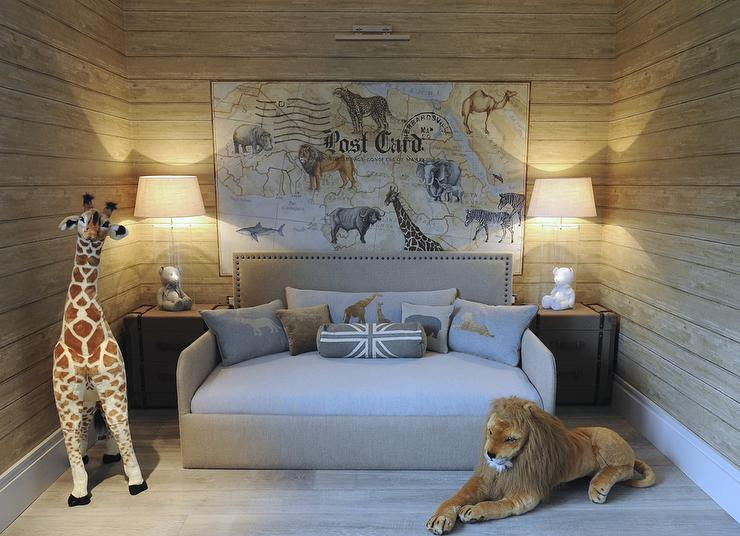 safari themed boys bedroom transitional boy 39 s room