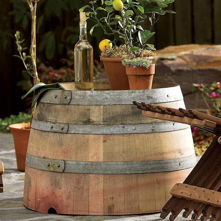 Wine Barrel Plaques Ballard Designs