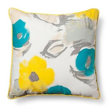 Room Essentials Printed Floral Pillow