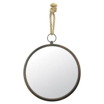 CKK Medium Round Nautical Wall Mirror