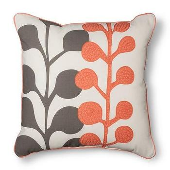 Room Essentials Embroidered Floral Toss Pillow