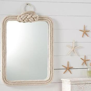 Belay White Rope Mirror