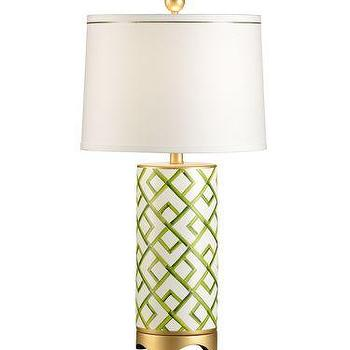 Chelsea House Bamboo Squares Lamp