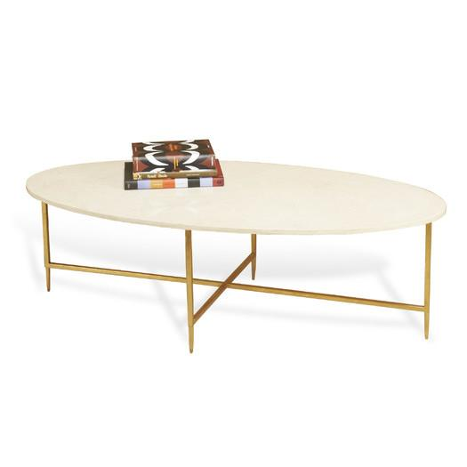 oval marble coffee table Interlude Home Ashyln Gold Coffee Table oval marble coffee table