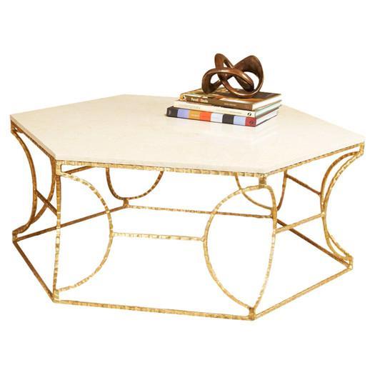 Home Saybrook Gold Coffee Table